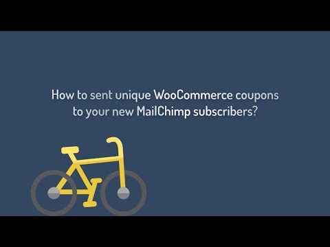 How To Send Unique WooCommerce Coupons To Your New MailChimp Subscribers?