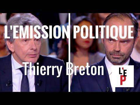 Thierry Breton dans l'Emission politique avec Edouard Philippe - 28 septembre 2017  (France 2)