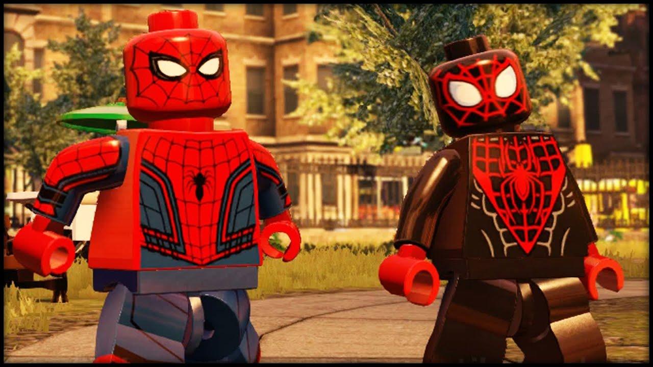 Лего человек паук 10