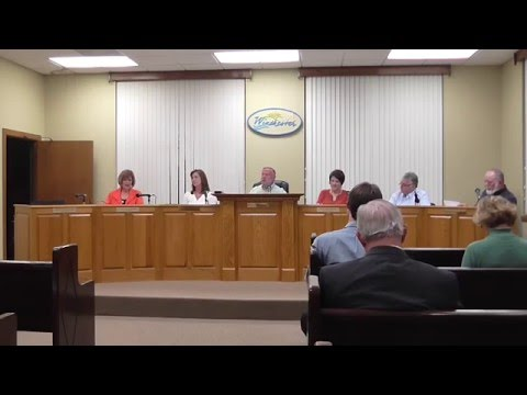 Winchester City Council Meeting 3-8-16