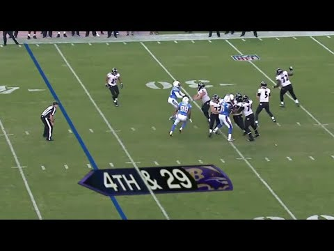 """Ravens vs Chargers 2012 Highlights - The """"4th and 29"""" Game"""
