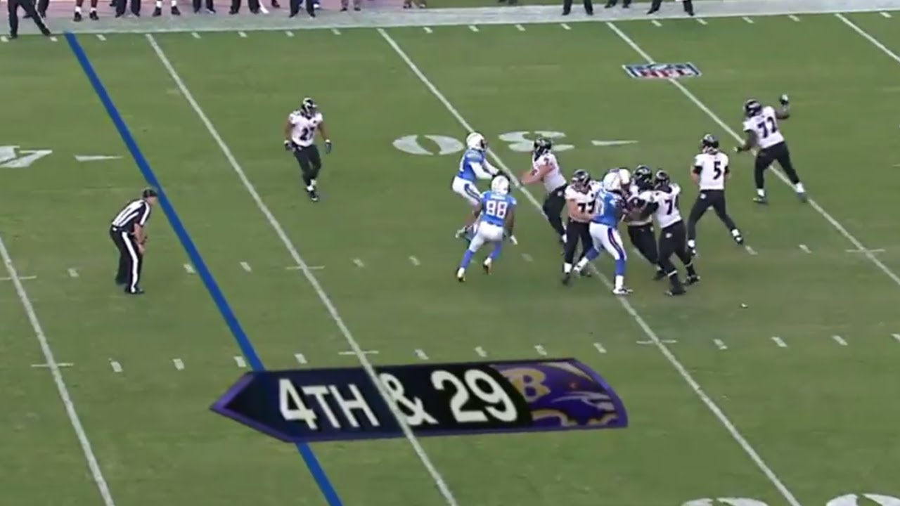 Ravens vs Chargers 2012 Highlights - The