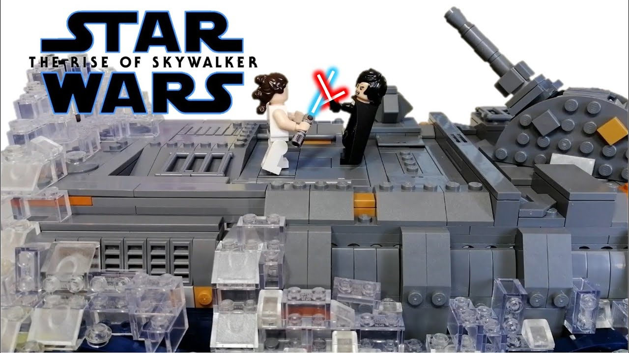 Lego Star Wars The Rise Of Skywalker Death Star Ruins Duel Trailer Moc Youtube