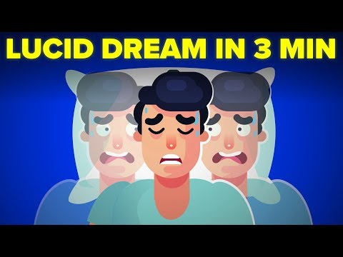 How To Lucid Dream in Your Sleep In 3 Minutes