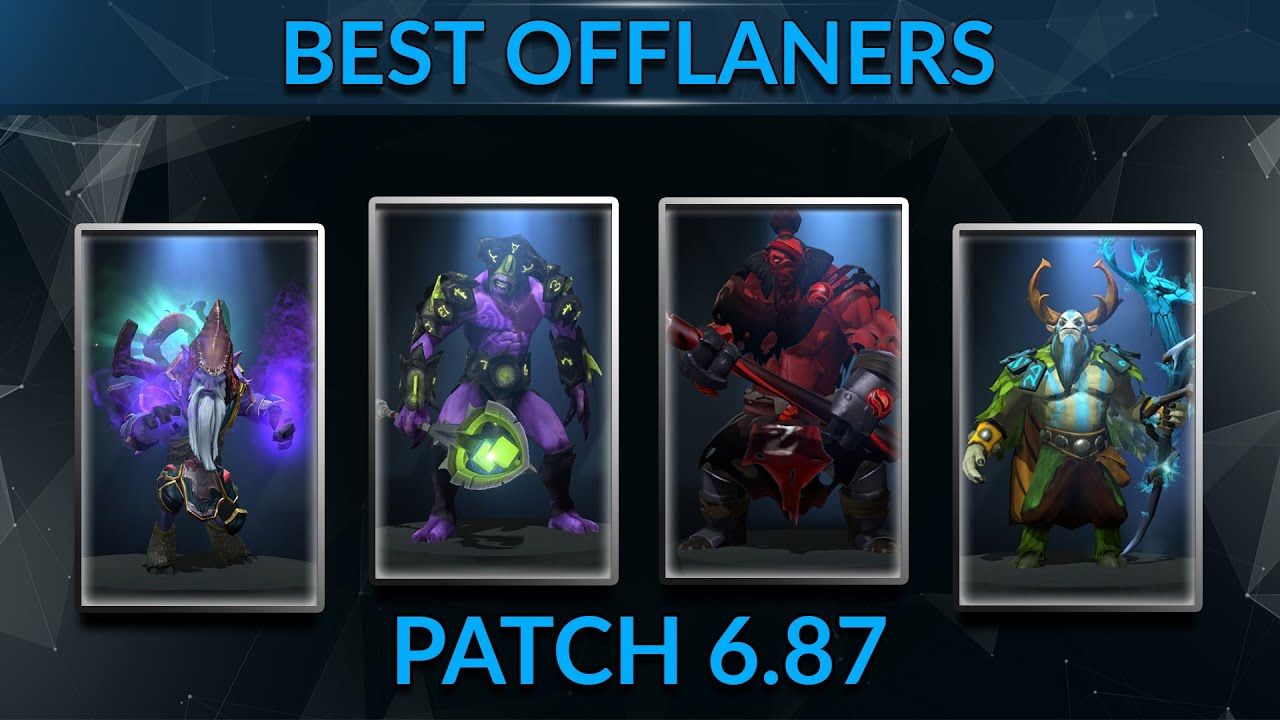 Top Offlane Heroes In The Current Meta Dota 2 Guide