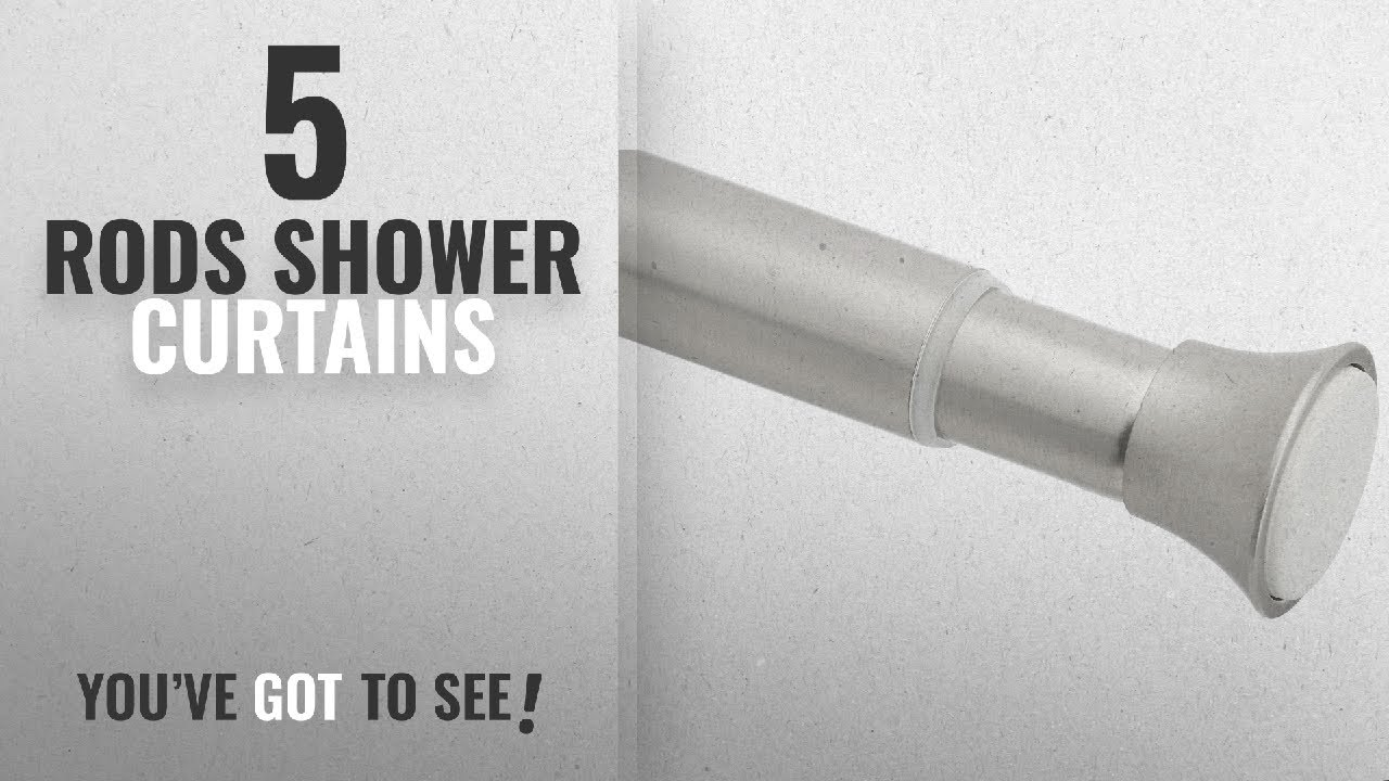 Top 10 Rods Shower Curtains 2018 AmazonBasics Shower Curtain