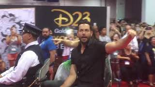 D23 Expo - Mandy Moore & Zachary Levi on Parade (2017)