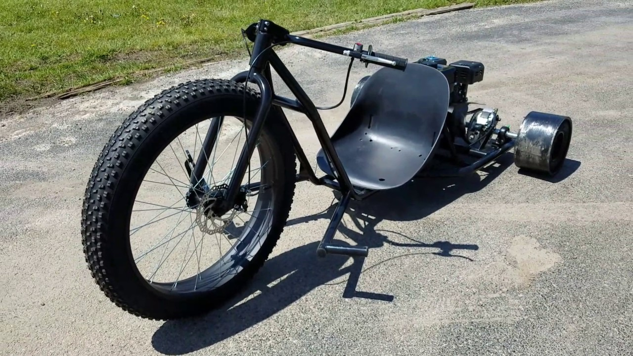 6 5 hp black bandit gas drift trike from saferwholesale. Black Bedroom Furniture Sets. Home Design Ideas
