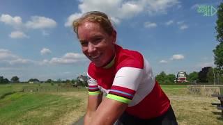 Wereldkampioene Kirsten Wild - VisitOost - Fietsen in en rond Hanzestad Zwolle