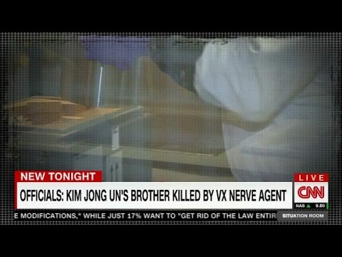 VX nerve agent killed North Korean in airport