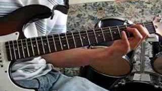 rock and roll led zeppelin cover guitar solo
