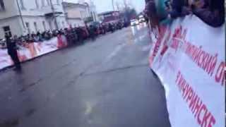 Олимпийский огонь Мичуринск 13.01.2014(, 2014-01-13T20:59:27.000Z)
