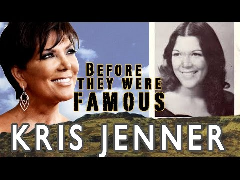 KRIS JENNER | Before They Were Famous | KUWTK