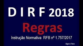🔴 DIRF - Declaração do Imposto de Renda Retido na Fonte - Dúvidas frequentes.