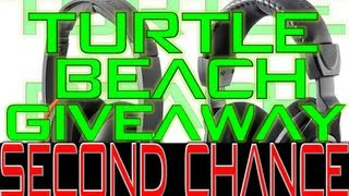 turtle beach giveaway video second chance win the turtle beach p11 or x12