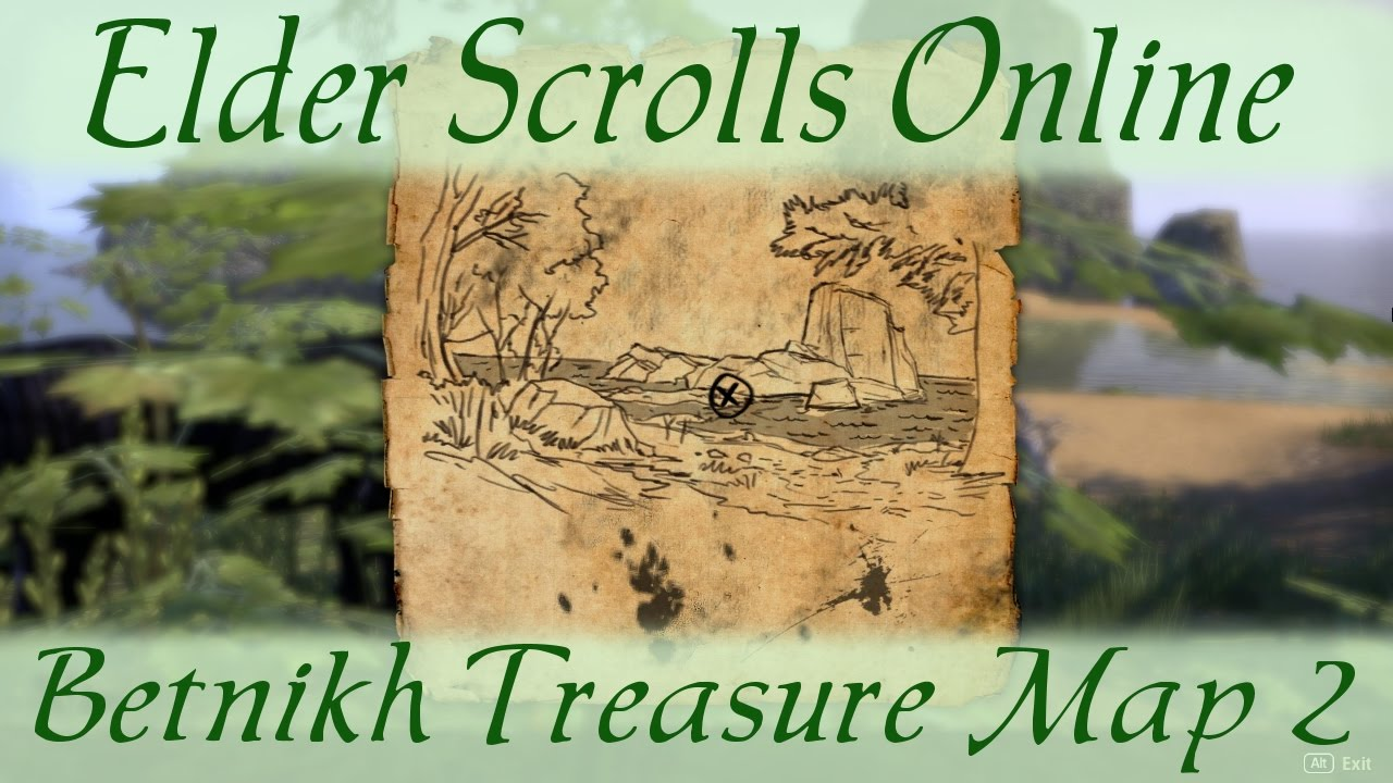 Betnikh Treasure Map 2 [Elder Scrolls Online ESO] ii