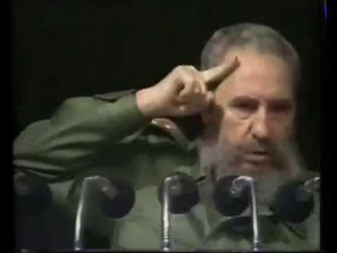Discurso impecable - Fidel Castro