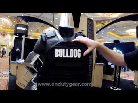 Armor Express Bulldog Corrections Special Operations Carrier at the 2014 SHOT Show