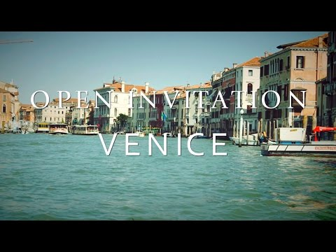 Open Invitation with Bill Rancic | Venice, Italy