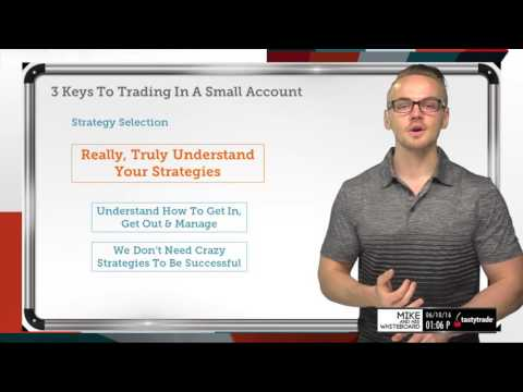 3 Keys to Trading Options In A Small Account | Options Trading Strategies
