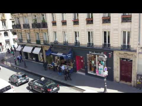 Airbnb apartment on Rue des Archives, La Marais, Paris, France