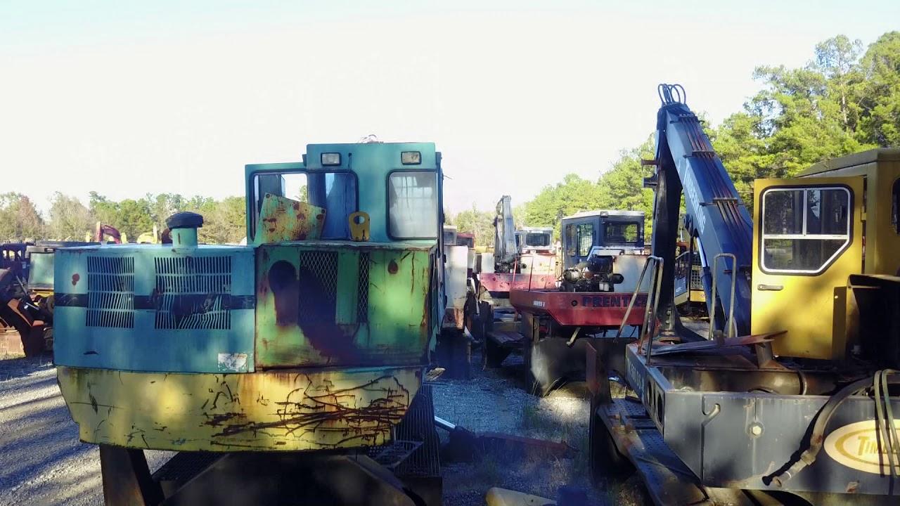 South Carolina Used Logging Parts  Skidders, Fellerbunchers
