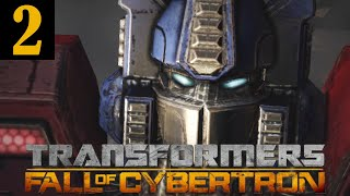 Transformers Fall of Cybertron Walkthrough Part 2 No Commentary 1080p 60FPS