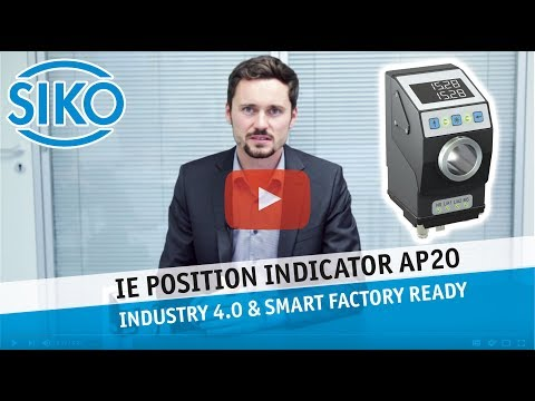 SIKO Industrial Ethernet Position Indicator AP20 - Industry 4.0 & Smart Factory ready!