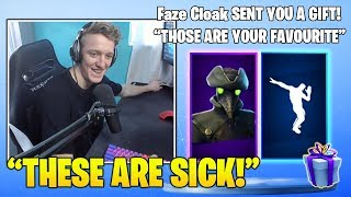 TFUE Reacts TO HIS *GIFTED* NEW EPIC 'Plague' Skin & RARE 'Infinite DAB' Emote! (Fortnite Moments)