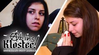 Gabriela hat einen Nervenzusammenbruch: Ihr wird es zu viel! | Ab ins Kloster! | kabel eins