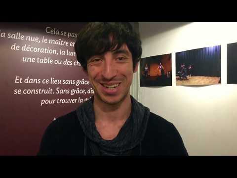 Laurent, élève comédien au Studio Muller