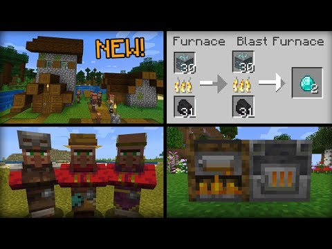 NEW Things Added in Minecraft 1.14 Update thumbnail