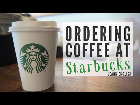 Ordering Coffee at Starbucks | English Class
