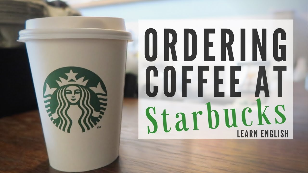 How to order a starbucks drink