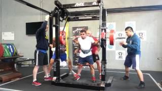 Allen Ozdil squats 240kg@80kg PTC