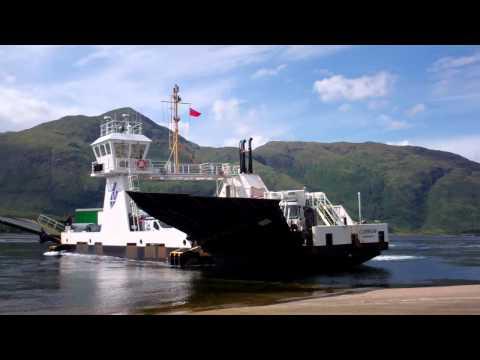 Corran Ferry Loch Linnhe Scottish Highlands Of Scotland