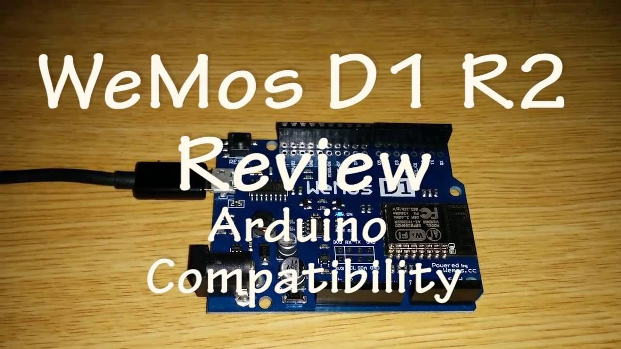 Wemos D1 R2 Arduino Compatibility