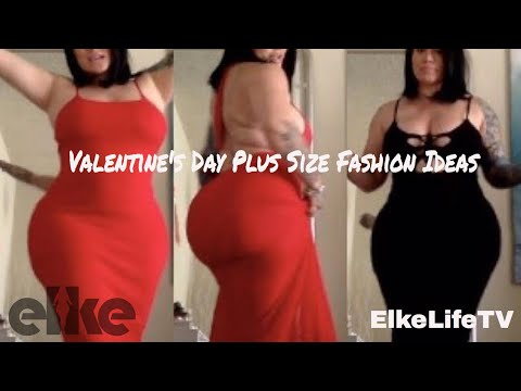 Review: Slay on your Valentine's Day | Plus Size Fashion Outfit Ideas & Try on (ElkeLifeTV)