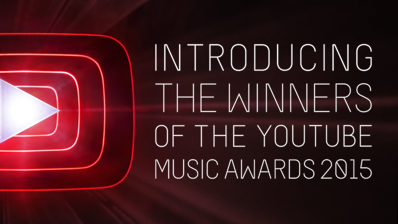 Presenting The Youtube Music Awards Winners Of 2015 Youtube