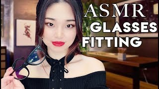 [ASMR] Glasses Fitting and Frame Design
