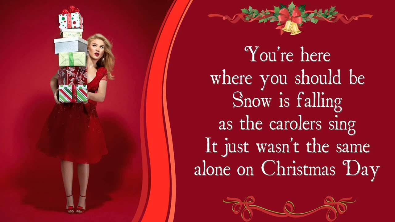 Kelly Clarkson - Underneath the Tree (Lyric Video) - YouTube