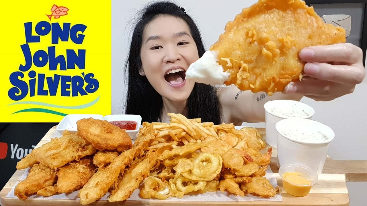 Long john silver 39 s seafood feast fish n chips fried for Long john silver fish and chips