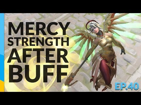 Mercy's Strength After Her Buff | Overwatch Road To Top 500 - Ep.42