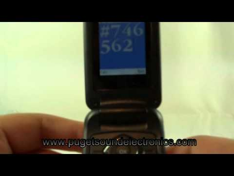How to unlock T-Mobile Samsung SGH-T139