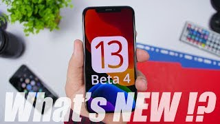 iOS 13 Beta 4 - What's NEW !?