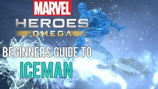 A beginners guide to all things Iceman in Marvel Heroes Omega. Feat...