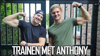 TRAINING CHALLENGE VS ANTHONY KRUIJVER - Eating Challenge Voorbereiding