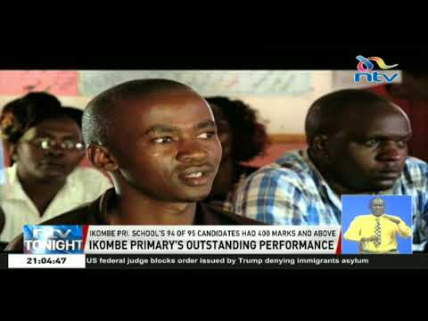 Ikombe primary school's 94 of 95 KCPE candidates had 400 marks and above