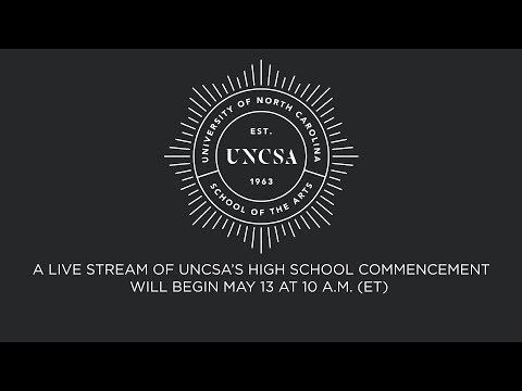 2017 UNCSA High School Commencement