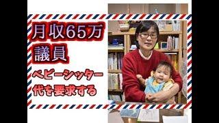【熊本】 子連れ市議、市にベビーシッター代を要望し断られていた  緒方夕佳 緒方夕佳 検索動画 17